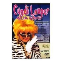 Cyndi Lauper - Live In Paris - Poster / Capa / Cartaz - Oficial 2