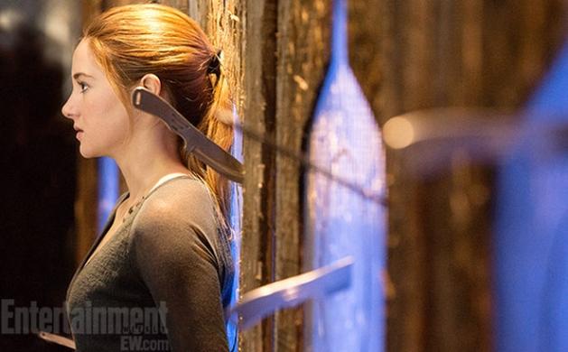Shailene Woodley na primeira imagem oficial de Divergente!