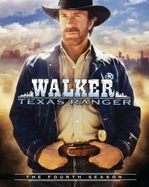 Walker, Texas Ranger (4ª Temporada) - Poster / Capa / Cartaz - Oficial 1