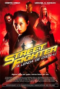 Street Fighter: A Lenda de Chun-Li - Poster / Capa / Cartaz - Oficial 1