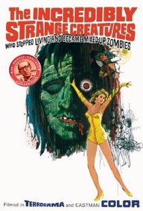 The Incredibly Strange Creatures Who Stopped Living and Became Mixed-Up Zombies!!?  - Poster / Capa / Cartaz - Oficial 1