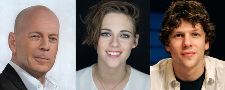 Próximo filme de Woody Allen terá Kristen Stewart, Bruce Willis e Jesse Eisenberg