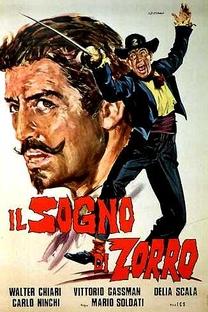 O Sonho do Zorro - Poster / Capa / Cartaz - Oficial 1