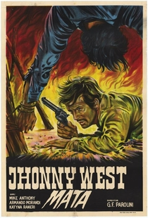 Johnny West, O Canhoto - Poster / Capa / Cartaz - Oficial 3