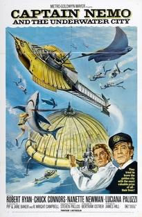 Capitão Nemo e a cidade flutuante - Poster / Capa / Cartaz - Oficial 1