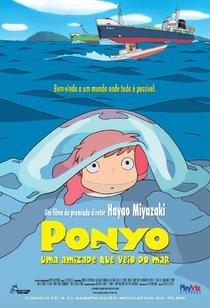 Ponyo: Uma Amizade que Veio do Mar - Poster / Capa / Cartaz - Oficial 3