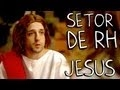 Setor De RH (Jesus) - Porta Dos Fundos - Poster / Capa / Cartaz - Oficial 1