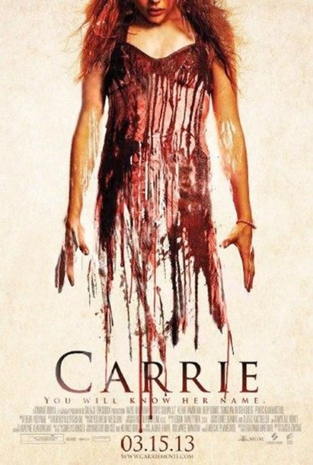 "Novo poster para ""Carrie"""