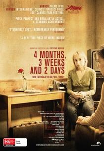 4 Meses, 3 Semanas e 2 Dias - Poster / Capa / Cartaz - Oficial 3