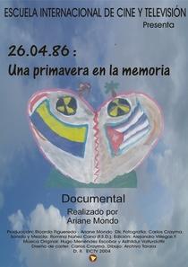 26.04.86: Uma Primavera na Memória - Poster / Capa / Cartaz - Oficial 1