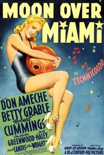 Sob o Luar de Miami - Poster / Capa / Cartaz - Oficial 1