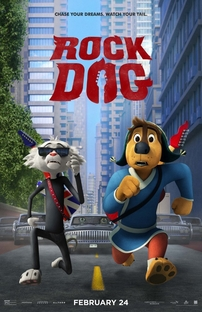 Rock Dog: No Faro do Sucesso - Poster / Capa / Cartaz - Oficial 1