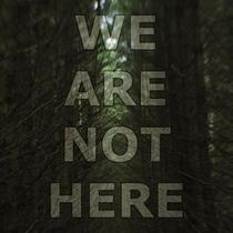 Não Estamos Aqui - Poster / Capa / Cartaz - Oficial 1