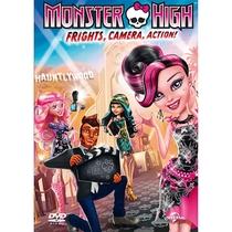 Monster High: Monstros, Câmera, Ação! - Poster / Capa / Cartaz - Oficial 1