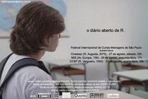 O Diário Aberto de R. - Poster / Capa / Cartaz - Oficial 1