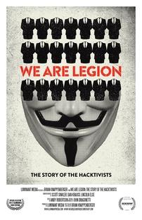 Nós Somos a Legião: A História dos Hacktivistas - Poster / Capa / Cartaz - Oficial 1