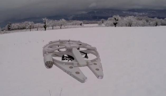 Star Wars: fã cria um drone da Millennium Falcon