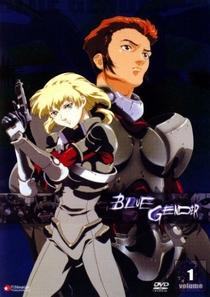 Blue Gender - Poster / Capa / Cartaz - Oficial 1