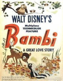 Bambi - Poster / Capa / Cartaz - Oficial 1