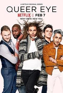 Queer Eye (1ª Temporada) - Poster / Capa / Cartaz - Oficial 1