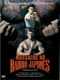 Massacre no Bairro Japonês - Poster / Capa / Cartaz - Oficial 4
