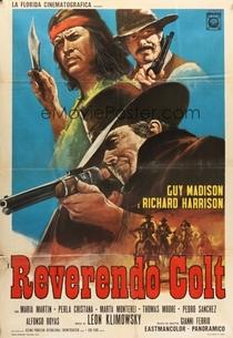 Reverendo Colt - Poster / Capa / Cartaz - Oficial 2