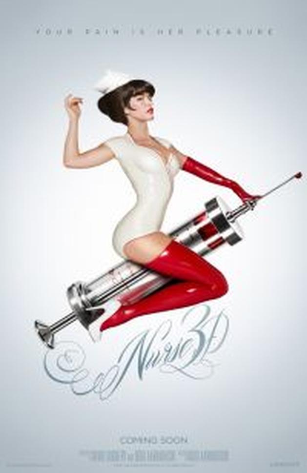 Mais um poster de «Nurse 3D» - C7nema