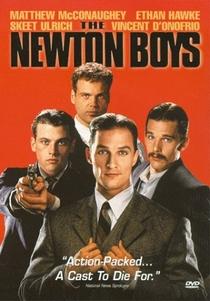 Newton Boys - Irmãos Fora-da-Lei - Poster / Capa / Cartaz - Oficial 3