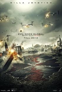 Resident Evil 5: Retribuição - Poster / Capa / Cartaz - Oficial 2