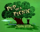 Picnic Atrapalhado (Pup on a Picnic)