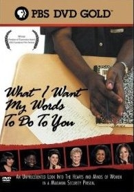 What I Want My Words to Do to You: Voices from Inside a Women's Maximum Security Prison - Poster / Capa / Cartaz - Oficial 1
