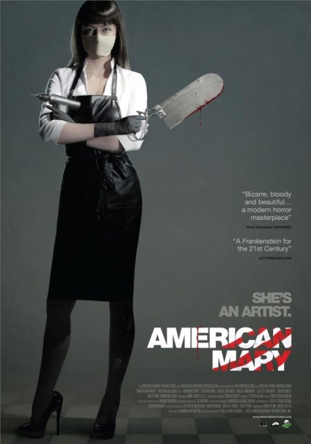 Pôster Inédito de 'American Mary'