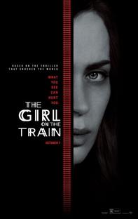 A Garota no Trem - Poster / Capa / Cartaz - Oficial 3