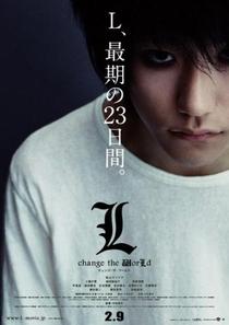 L - Change The World - Poster / Capa / Cartaz - Oficial 4