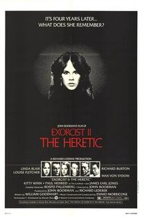 O Exorcista II - O Herege - Poster / Capa / Cartaz - Oficial 1