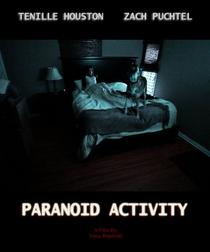 Paranoid Activity - Poster / Capa / Cartaz - Oficial 1
