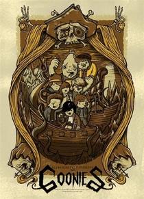 Os Goonies - Poster / Capa / Cartaz - Oficial 12