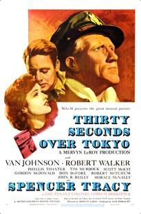 30 Segundos Sobre Tóquio - Poster / Capa / Cartaz - Oficial 1