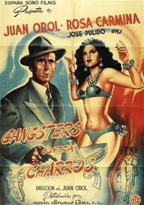 Gángsters contra charros - Poster / Capa / Cartaz - Oficial 1