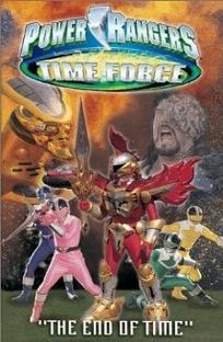 Power Rangers: Força do Tempo - O Fim do Tempo - Poster / Capa / Cartaz - Oficial 1
