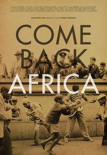 Come Back, Africa - Poster / Capa / Cartaz - Oficial 1