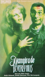 A Vampira de Beverly Hills - Poster / Capa / Cartaz - Oficial 3