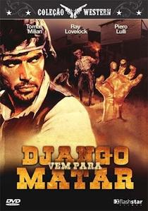 Django Vem para Matar - Poster / Capa / Cartaz - Oficial 4