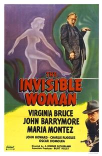 A Mulher Invisível - Poster / Capa / Cartaz - Oficial 1