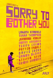 Sorry to Bother You - Poster / Capa / Cartaz - Oficial 2