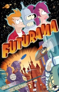Futurama (1ª Temporada) - Poster / Capa / Cartaz - Oficial 1