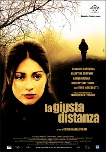 La Giusta Distanza - Poster / Capa / Cartaz - Oficial 1