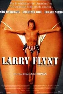 O Povo Contra Larry Flynt - Poster / Capa / Cartaz - Oficial 3