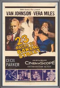 A 23 Passos da Rua Baker - Poster / Capa / Cartaz - Oficial 2