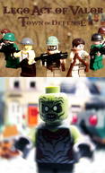 Lego Act of Valor: Town of Defense (Lego Act of Valor: Town of Defense)